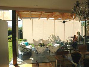 La Vidriera - Servicios cortinas y persianas - cortina vertical